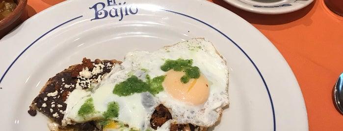 Restaurante El Bajio is one of 24 horas de comida en CDMX.