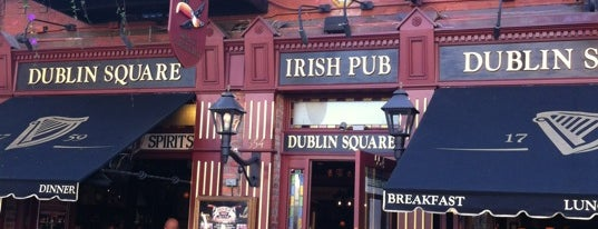 Dublin Square Irish Pub is one of San Diego's Best Pubs - 2012.
