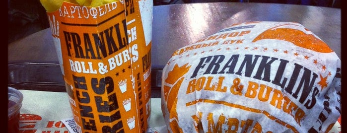 Franklin's Roll & Burgers is one of Cafes & Restaurants ($).