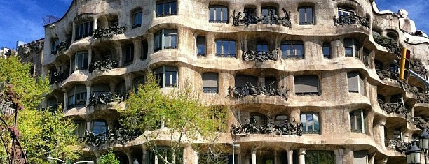 Casa Milà is one of Architecture.