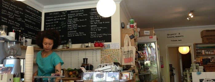 Healthy Stuff is one of Specialty Coffee Shops (London).