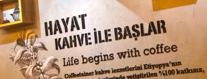 Coffeetainer is one of Antalya-turkia.