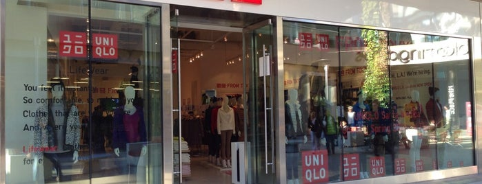 UNIQLO is one of LA.