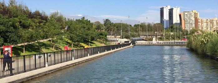Parque Fluvial Renato Poblete is one of Lieux qui ont plu à Daniela.