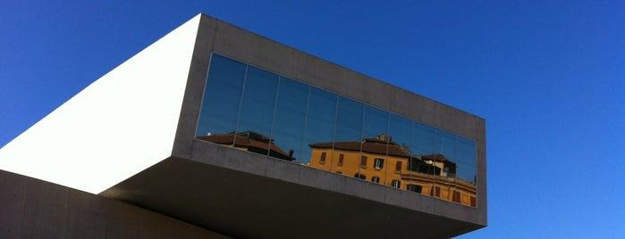 MAXXI Museo Nazionale delle Arti del XXI Secolo is one of Architecture.