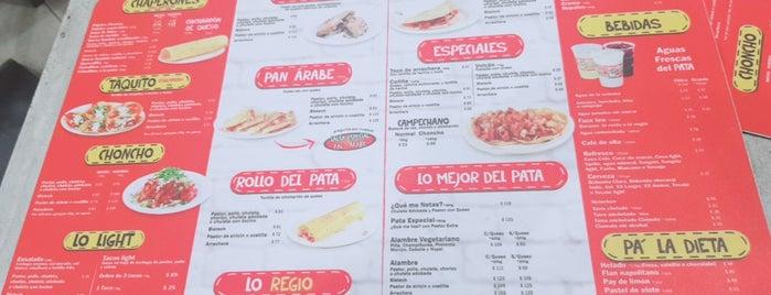 Tacos El Pata is one of Lieux qui ont plu à Julio.