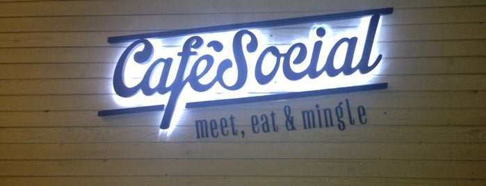 Café Social is one of Lieux qui ont plu à Salim.