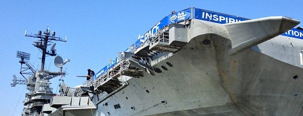 Intrepid Sea, Air & Space Museum is one of New York, things to do.