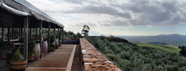 Hidden Valley Wines is one of Stellenbosch.