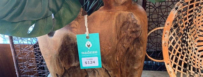 Nadeau Furniture is one of Nola.