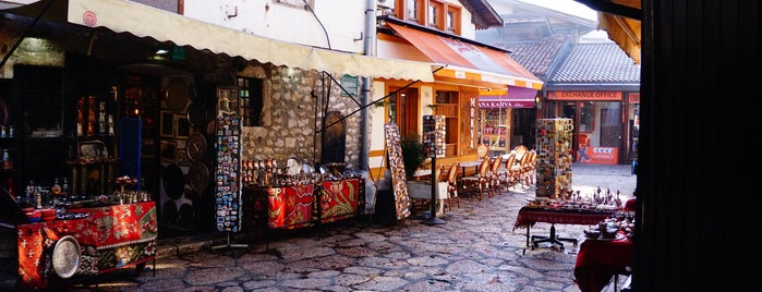 Sarajevo Old City is one of Bosna.