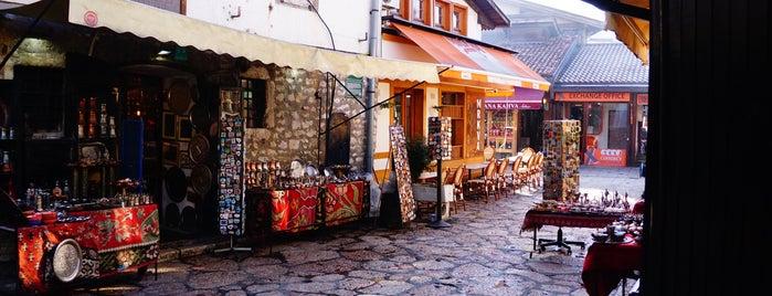 Sarajevo Old City is one of Lugares favoritos de Engin.