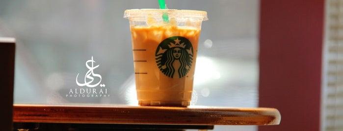 Starbucks is one of Kuwait الكويت.