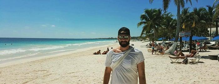 Playa Paraiso is one of TULUM 2016.