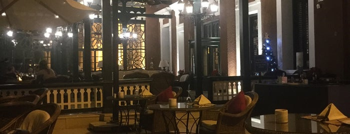 Terrace at Sofitel Aswan is one of Tempat yang Disimpan Ahmed.