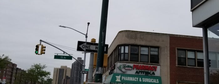MTA Bus Stop - Q46 (Queens Blvd/78th Ave) is one of NEW YORK 6.