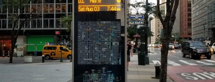 MTA Bus - 2 Av & E 42 St (M15/M15-SBS) is one of Usual spots.