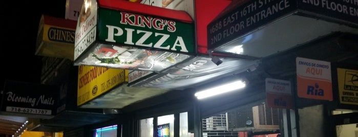 King's Pizza is one of Michelle: сохраненные места.