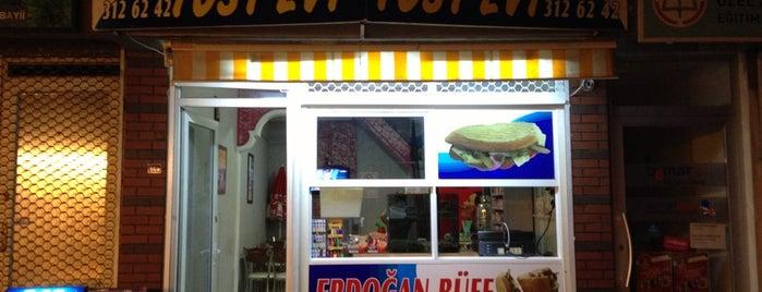 Erdoğan Büfe Tost Evi is one of Hakan 님이 저장한 장소.