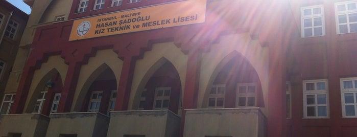 Hasan Şadoğlu Mesleki ve Teknik Anadolu Lisesi is one of Batuhan'ın Beğendiği Mekanlar.