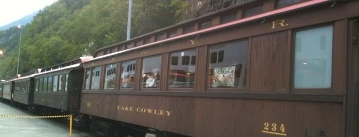 White Pass & Yukon Route Railroad (Golden Princess) is one of Alaska Trip.