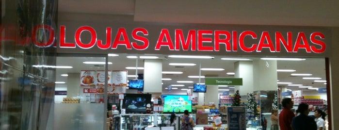 Lojas Americanas is one of Lieux qui ont plu à Maria Luiza.