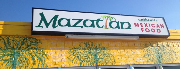 Mazatlan is one of Denton.