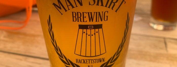 Manskirt Brewery is one of Posti salvati di Rachel.