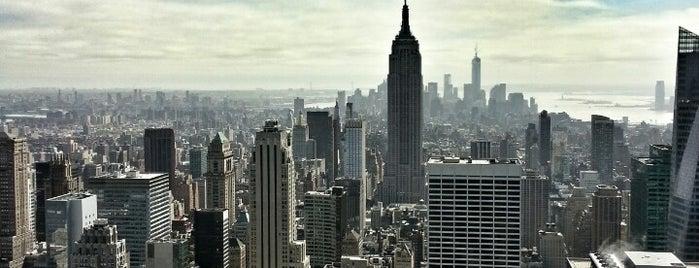 トップ オブ ザ ロック展望台 is one of NYC.