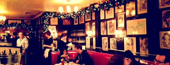 Minetta Tavern is one of Greenwich Village.