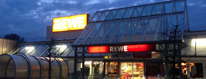 REWE is one of Locais curtidos por Tino.