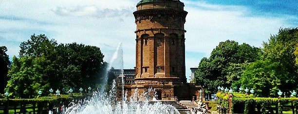Wasserturm is one of Mannheim.