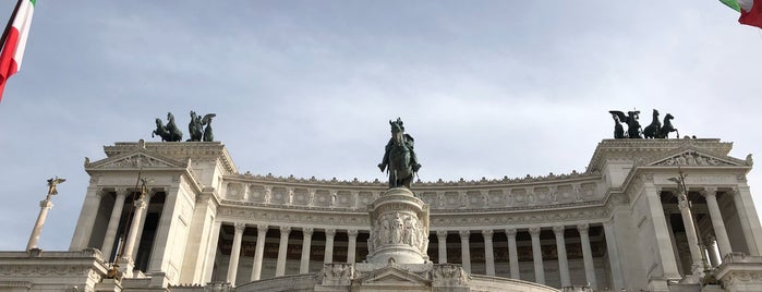 Capitoline Hill is one of Italia to-do🇮🇹🍝🍕.