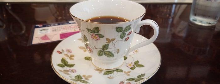 豆香洞コーヒー is one of 大人が行きたいうまい店2 福岡.