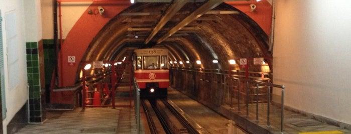 Karaköy Tramvay Durağı is one of İstanbul Avrupa Yakası #4 🍁🍃.