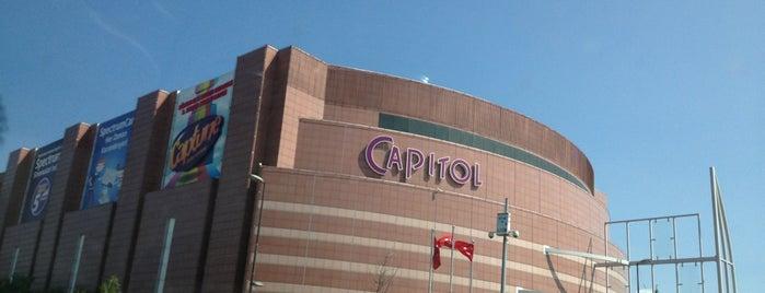 Capitol is one of Dilara 님이 저장한 장소.