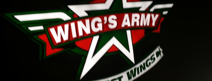 Wings Army is one of Lugares favoritos de Marco.