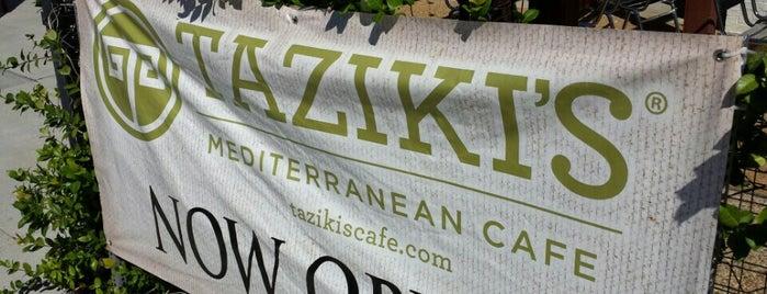 Taziki's Mediterranean Cafe is one of Lieux qui ont plu à K.