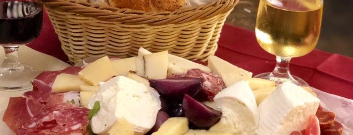 Antica Salumeria is one of Roma Comer.