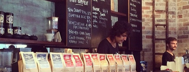 Sample Coffee is one of Sydney for coffee-loving design nerds.