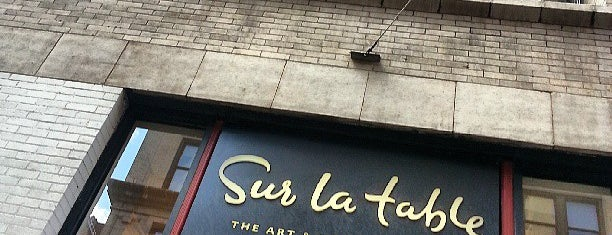 Sur La Table is one of DINA4NYC.