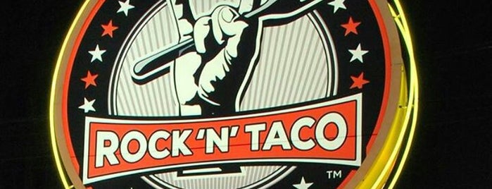 Rock 'n' Taco is one of Locais curtidos por JENNIFER.
