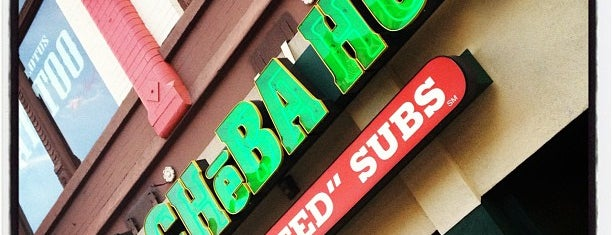 Cheba Hut Toasted Subs is one of Lugares guardados de M.
