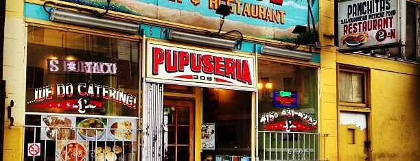 Panchita's Pupuseria Restaurant #2 is one of Tempat yang Disukai Roy.