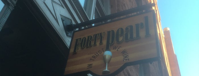 Forty Pearl is one of Locais salvos de Joey.