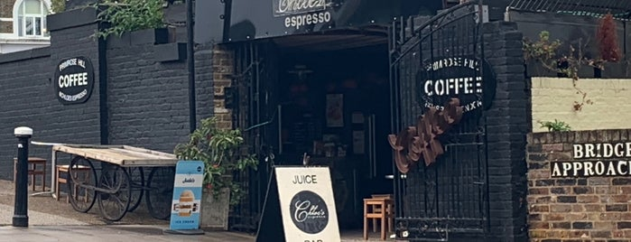 Chloe's Espresso is one of London Coffee.
