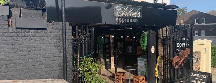 Chloe's Espresso is one of Lugares favoritos de James.