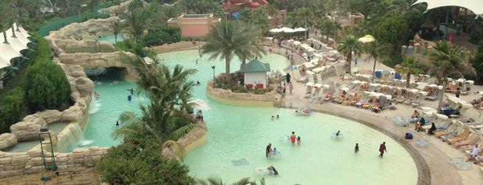 Atlantis Dubai water park is one of Dubai, UAE.