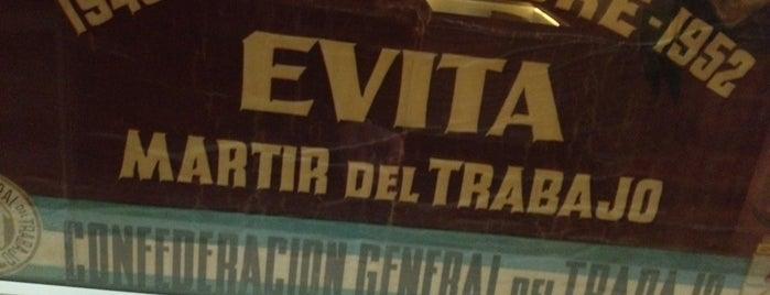 Museo Evita is one of Sitios Internacionales.
