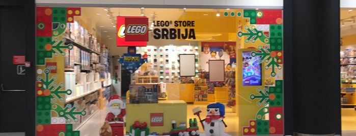 Lego Store is one of Belgrad.